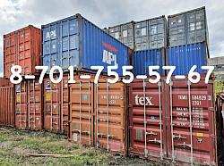 Продаю контейнеры РАСТАМОЖЕННЫЕ 20 футовые в Темиртау, Караганде . Темиртау
