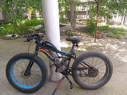 Веломотоцикл Тараз