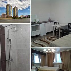 Апартаменты в элитном доме. 5 мкрн. Фото реальные. WIFI Smart TV Уральск