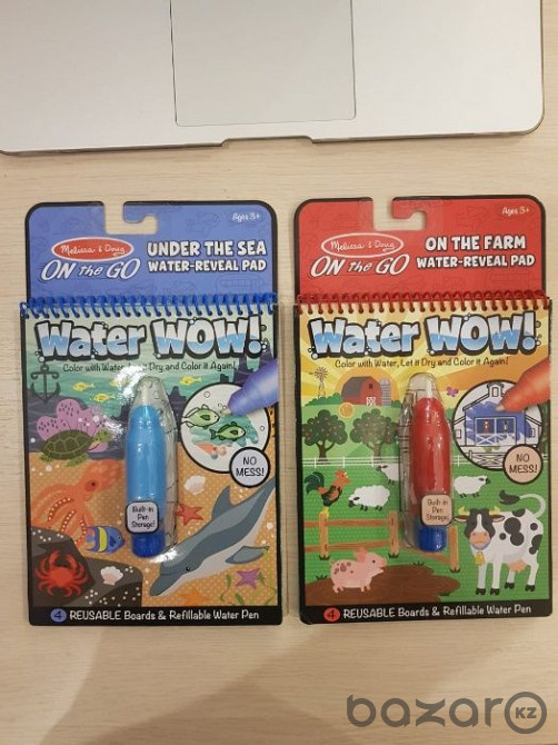 Melissa & Doug Водная раскраска Water Wow! в Алматы ...