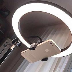 Кольцевая LED лампа штативный Кульсары