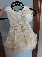 Детское нарядное платье на годик Павлодар