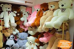 Плюшевая мишка медведь Тедди teddy Нестор мягкая игрушка с доставкой Алматы