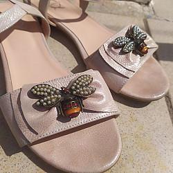 Кожаные сандалии Костанай