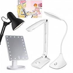 ДОСТАВКА Складные LED-лампы, торшеры, зеркало для маникюра мастеров Шымкент
