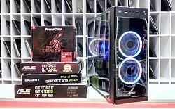 РАСПРОДАЖА Игровой компьютер I3-9100/1050Ti4GB/Озу 8gGb/H310/500Gb Алматы