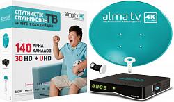 Алма ТВ спутниковое телевидение с установкой Нур-Султан