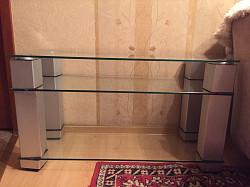 Стеклянный стол Алматы