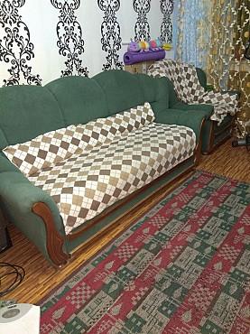 Диван раскладной вперед и кресло нераскладное Алматы