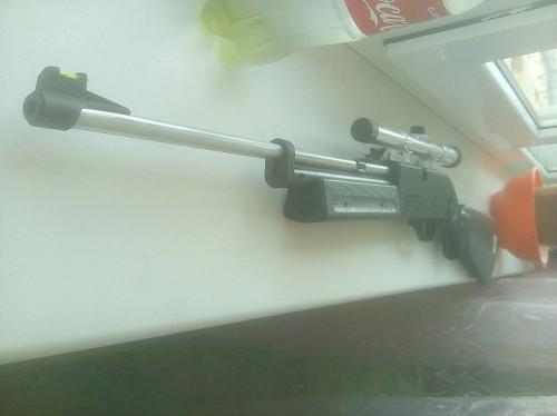 Воздушка пневмат тировая для развлекательной стрельбы по мишеням Атырау