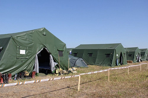 Палатка армейская военная 40 мест, термосы Алматы