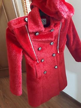 Пальто для девочки Актау