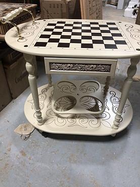 Шахматы, сервировочный столик Алматы