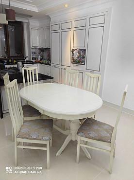 Кузонный стол и 6 стульев Нур-Султан