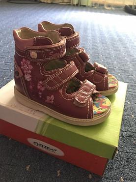 Ортопедическая летняя обувь 22 размер для девочки Павлодар