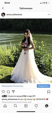 Продам свадебное платье А-силуэта Уральск