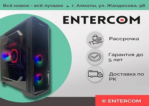 Игровой компьютер i3 9100/8Gb/SSD 120/500Gb/RX 580 НОВЫЙ Алматы