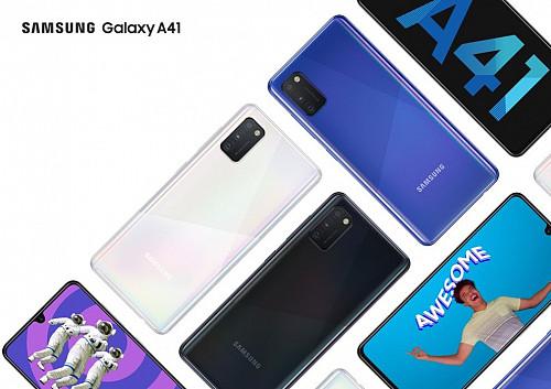 Смартфоны Samsung Galaxy A41 (2020). Новые, оригинальные. Караганда Караганда