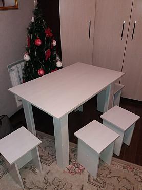 Продам столы стулья(НОВЫЕ-НЕ Б.У НОВЫЕ) из лдсп Актобе