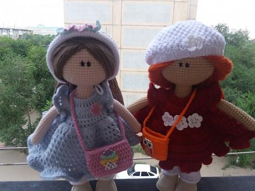 Продам вязаную интерьерную куклу Актобе