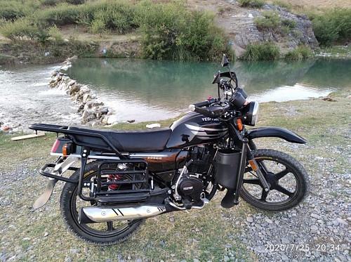 Жаңа қытай мотоциклдері Туркестан
