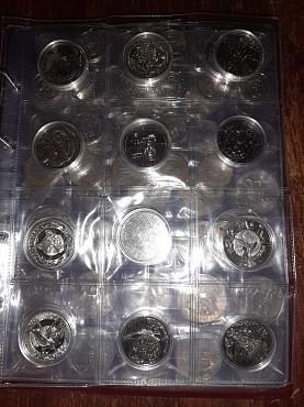 Полная коллекция юбилейных монет Казахстана 134 монеты Павлодар