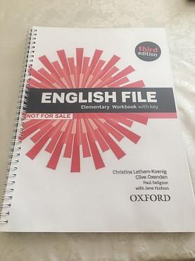 New English File Elementary Workbook Алматы