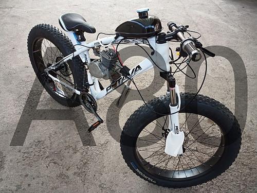 Мотоскелет с педалями. Алматы