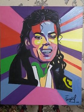Продам портрет «Майкл  Джексон» Нур-Султан