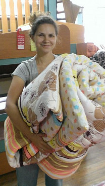 Реставрация одеял из шерсти Алматы