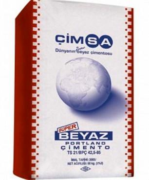 Цемент Cimsa белый М-600 (Цимса) Алматы