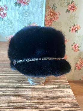 Норковая шапка беретка Нур-Султан