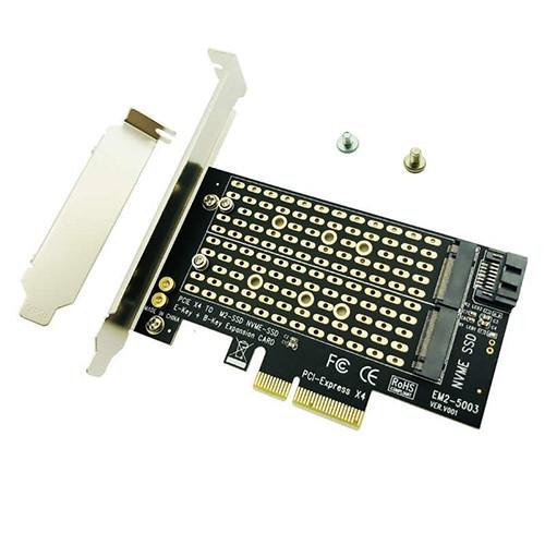 PCI-E card ViTi PCI3.0/2M.2 (оптом) Алматы