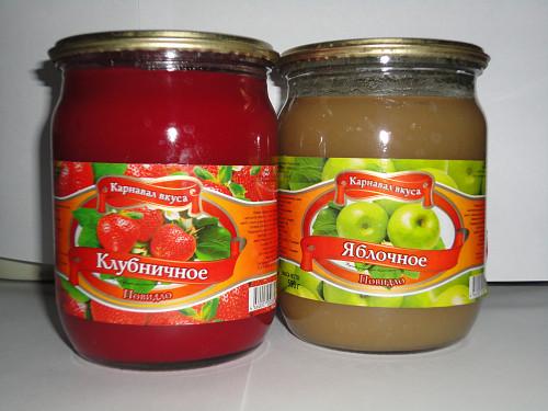 Фруктовое повидло, производства Россия Нур-Султан