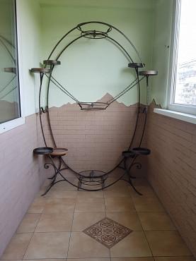 Цветочница из кованого метала Алматы