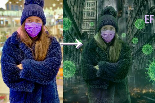 Фотошоп • Удаление фона • Photoshop • Коррекция • Арт • Аватарка Алматы