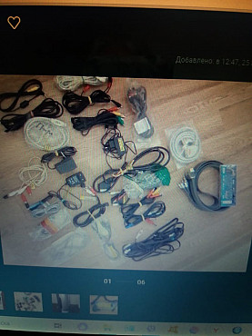 Продаю шнуры разные для компьютера, телевизора, зарядные устройства Актау