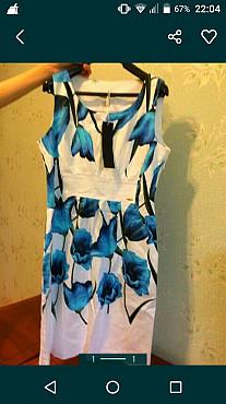 Летнее новое турецкое платье Кызылорда