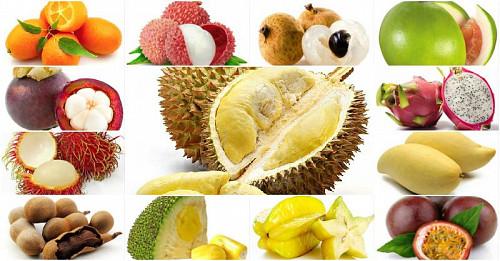 Экзотические фрукты в Казахстане Алматы