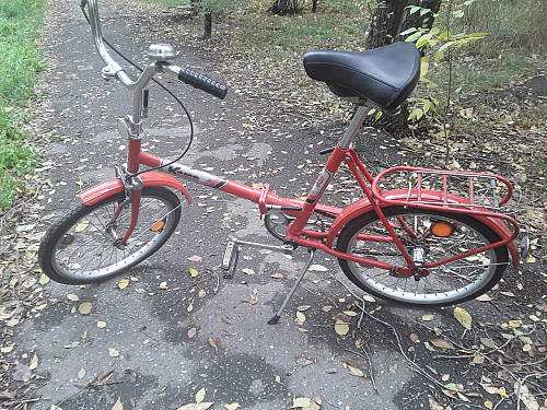"""Продам велосипед """"КАМА"""" в отличном состоянии Складной. Усть-Каменогорск"""