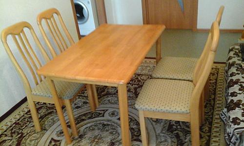 Стол и 4 стула в комплекте Уральск