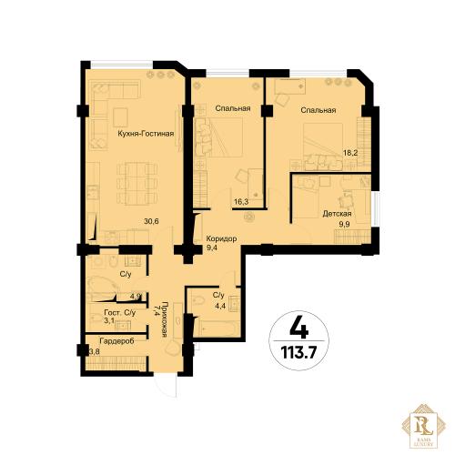 Эксклюзивная Квартира Для Ценителей Роскоши Алматы