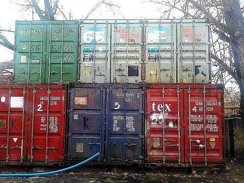 Аренда бокс-хранилищ (20-футовых контейнеров) для хранения домашних вещей Алматы