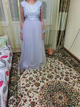 Платье нежное светлосиреневое выпускное Уральск