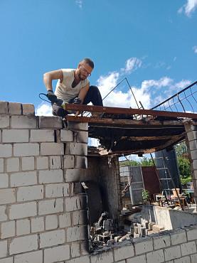 Снос домов и хоз.построек Уральск