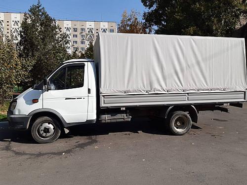 Грузоперевозки ГАЗелью 4 м по г. Алматы Алматы