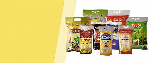 Упаковка для бакалейных и кондитерских изделий Алматы