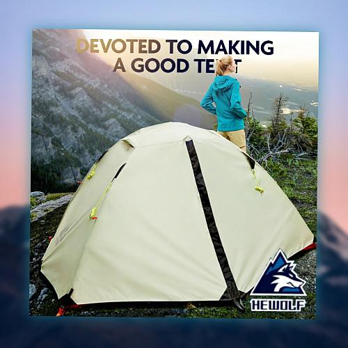 Лучшая палатка для новичков и опытных туристов Hewolf HE-Z1595 Алматы