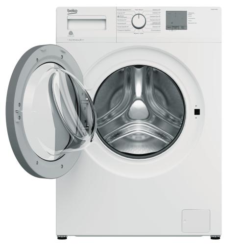Новая стиральная машина Beko WRS-5512BWW белая Караганда