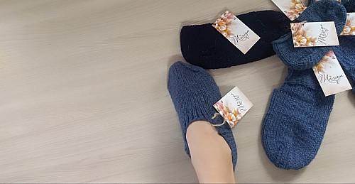 Теплые носки-следки Талдыкорган